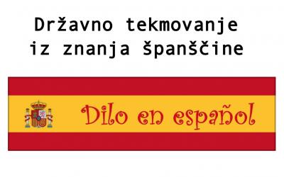 Državno tekmovanje iz znanja španščine